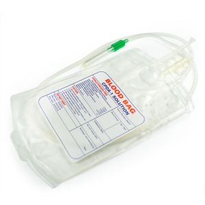 Bolsa de sangre médica simple / doble / triple / cuádruple para un solo uso